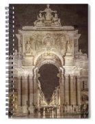 Rua Agusta Arch Lisbon Textured Spiral Notebook