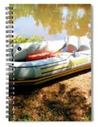 Rubber Boat 1 Spiral Notebook
