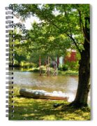 Rubber Boat 2 Spiral Notebook