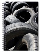 Rubber Refuse Spiral Notebook