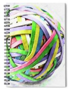 Rubberband Ball II Spiral Notebook