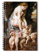 Rubens: Venus, C1606-09 Spiral Notebook