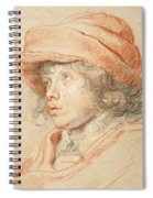Rubens's Son Nicolaas Wearing A Red Felt Cap Spiral Notebook