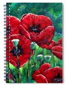 Rubies In The Emerald Forest Spiral Notebook