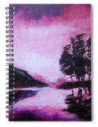 Ruby Dawn Spiral Notebook