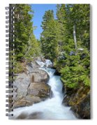Ruby Falls On A Spring Afternoon Spiral Notebook
