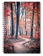 Ruby Forest Spiral Notebook