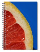 Ruby Red Grapefruit Quarter Spiral Notebook