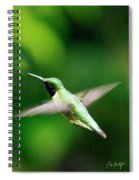 Ruby-throated Spiral Notebook