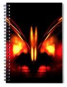 Ruby Wings Spiral Notebook