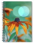 Rudbeckia Spiral Notebook