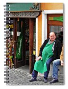 Rudesheim 4 Spiral Notebook