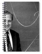 Rudolph Marcus, American Chemist Spiral Notebook
