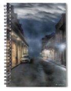 Rue Brumeuse Spiral Notebook