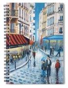 Rue De La Huchette, Paris 5e Spiral Notebook