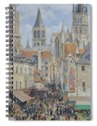 Rue De L'epicerie, Rouen Spiral Notebook