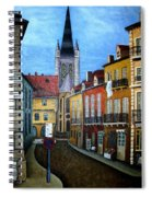 Rue Lamonnoye In Dijon France Spiral Notebook