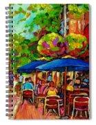 Rue Prince Arthur Montreal Spiral Notebook