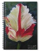 Ruffled Tulip  Spiral Notebook