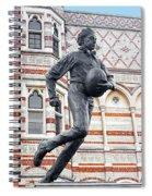 Rugby's Founder William Webb Ellis Spiral Notebook
