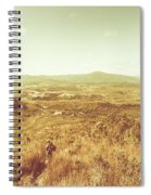 Rugged Bushland View Spiral Notebook