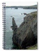 Rugged Coastline  Spiral Notebook