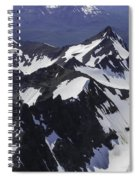 Rugged Mountain Peaks Spiral Notebook