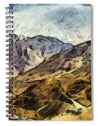 Rugged Mountains Of North India Spiral Notebook