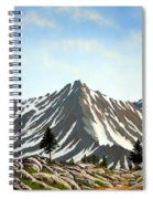 Rugged Peaks Spiral Notebook