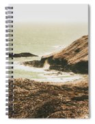 Rugged Rocky Cape Spiral Notebook