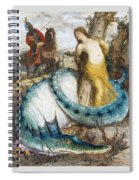 Ruggiero And Angelica Arnold Bcklin Spiral Notebook