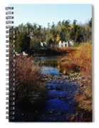 Ruins In Autumn Spiral Notebook