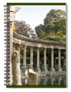 Ruins In The Park Spiral Notebook