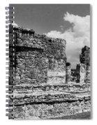 Ruins Of Ek Balan Spiral Notebook