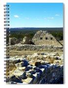Ruins Of Gran Quivira  Spiral Notebook