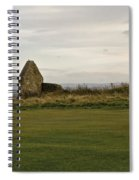 Ruins Of Hospice. Spiral Notebook