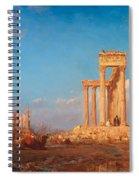 Ruins. Palmyra Spiral Notebook