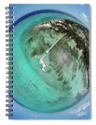Rum Point Little Planet Spiral Notebook