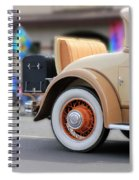 Rumble Seat Spiral Notebook