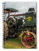 Rumley Oil Pull II Spiral Notebook