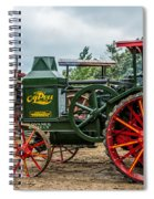 Rumley Oil Pull Tractor Spiral Notebook