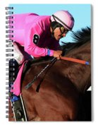 Run For The Roses 1 Spiral Notebook