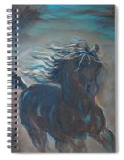 Run Horse Run Spiral Notebook