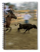 Run Little Doggie Spiral Notebook