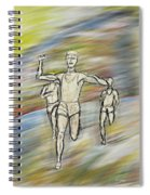 Runners Spiral Notebook
