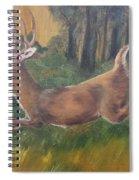 Running Buck Spiral Notebook