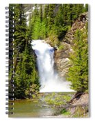 Running Eagle Falls Spiral Notebook