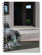 Running Horses  Spiral Notebook
