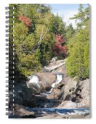 Running Through The Woods Spiral Notebook