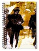 Running Under The Gun Spiral Notebook